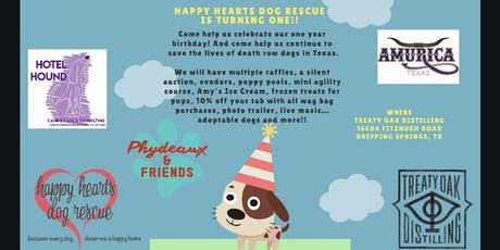 Happy Hearts Dog Rescue is Turning One! tickets