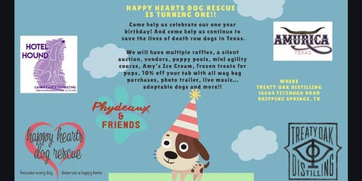 Happy Hearts Dog Rescue is Turning One!