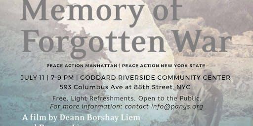 Screening of Memory of Forgotten War