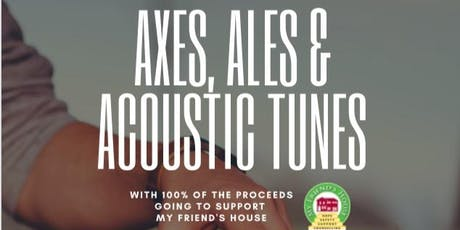 Axes, Ales and Acoustic Tunes VIP Tour tickets