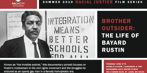 Racial Justice Film Series: Brother Outsider