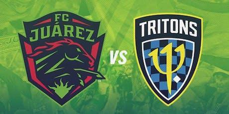 FC Juarez vs. Treasure Coast Tritons tickets