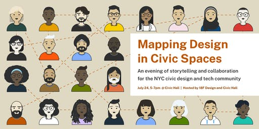 Mapping Design in Civic Spaces