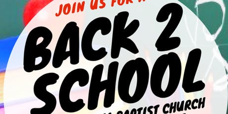 Back 2 School Jam tickets