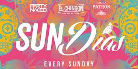 Sundais Dayparty at El Chingon Free Guestlist - 9/01/2019 boletos