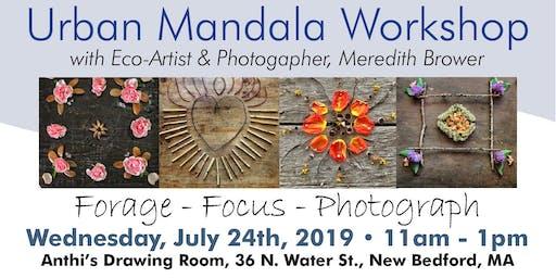 Urban Explorer Mandala Workshop ~ New Bedford, MA