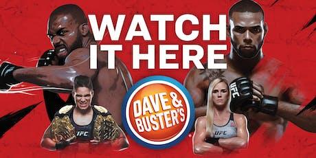 D&B Denver, CO -UFC 239 Jones vs Santos 2019 tickets