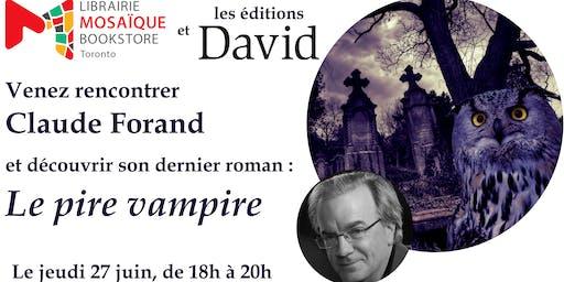 Lancement de livre avec Claude Forand