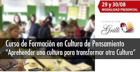 Aprehender una cultura para transformar otra Cultura entradas