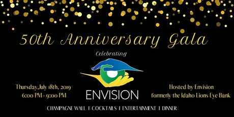 ENVISION 50th Anniversary Gala tickets