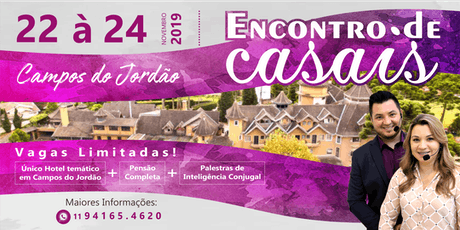 ENCONTRO DE CASAIS LOVELIFE NOVEMBRO 2019 ingressos
