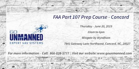 FAA Part 107 Prep Course - Concord, NC tickets
