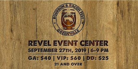 Bourbon & Bacon Fest Greenville 2019 tickets