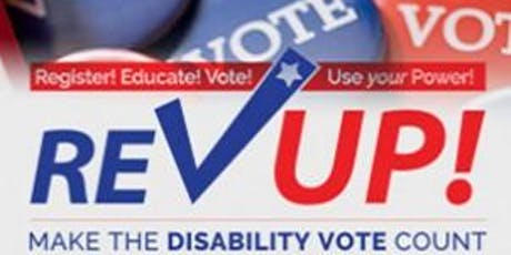 Voter Registration for Arlingtonians with Disabilities - and Celebration of 29th Anniversary of the American Disabilities Act.  tickets