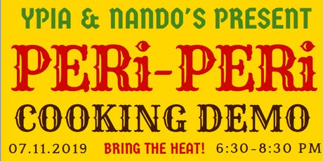 YPIA  Presents: Cooking Demonstration with Nando's Peri-Peri tickets