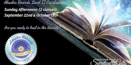 Akashic Reading Practitioner Level II Certification (1 of 2) tickets