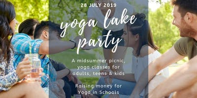 Yoga Midsummer Lake Party - A Charity Event