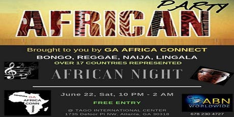 Africans Connect Networking/Party. tickets
