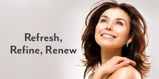Refresh, Renew, Revive Anti-Aging Event