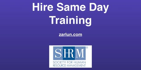 Hire Same Day© Training (Revolutionary) San Diego EB tickets