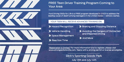Ford Driving Skills for Life hands-on clinics