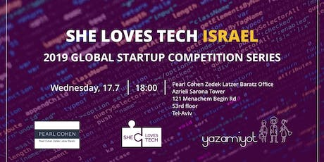 World's largest startup competition for women and technology tickets