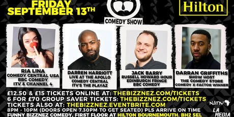 Funny Bizznez Comedy Bournemouth tickets
