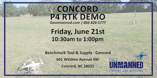 P4 RTK Demo - Concord, NC