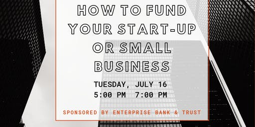 How to Fund Your Start-Up or Small Business: Panel + ThriveCo Networking Happy Hour