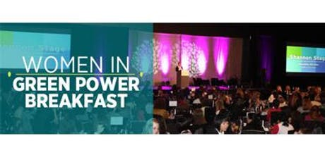 Women in Green Power Breakfast tickets