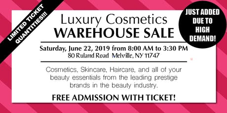 Special Invitation Warehouse Sale - JUNE 22, 2019 tickets
