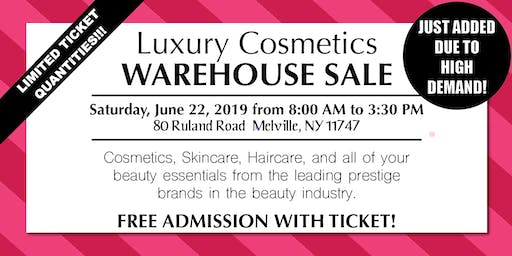 Special Invitation Warehouse Sale - JUNE 22, 2019