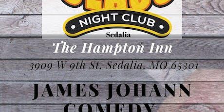 James Johann Pro Headliner tickets