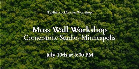 Moss Wall Workshop tickets