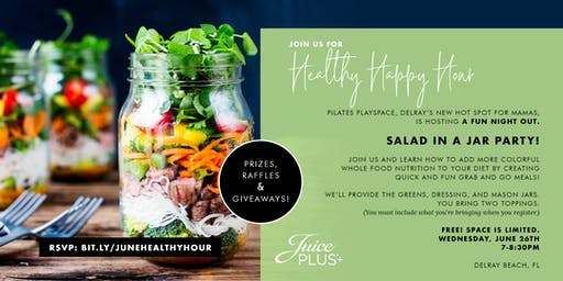 Healthy Happy Hour: June 2019