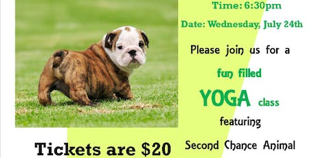 SCARS Puppy Yoga in the Park tickets