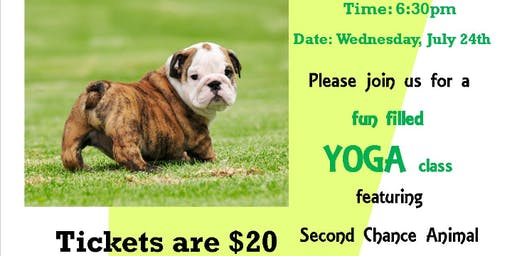 SCARS Puppy Yoga in the Park
