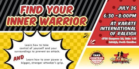 Find Your Inner Warrior tickets