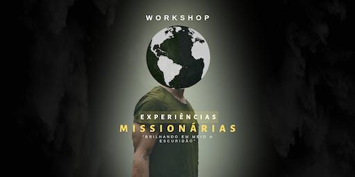 Workshop Experiências Missionárias.