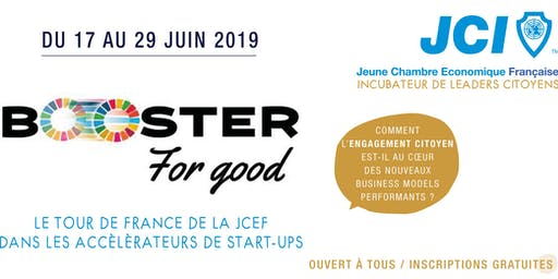 Booster for good, le tour de France de l'entreprenariat à impact positif !