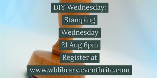 DIY Wednesdays: Stamping