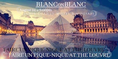Fourth Annual Blanc on Blanc tickets