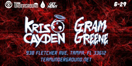 Kris Cayden + Gram Greene (TK Lounge Tampa) tickets