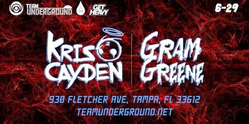 Kris Cayden + Gram Greene (TK Lounge Tampa)
