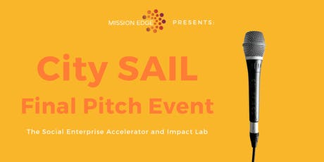 City SAIL Final Pitch Event tickets