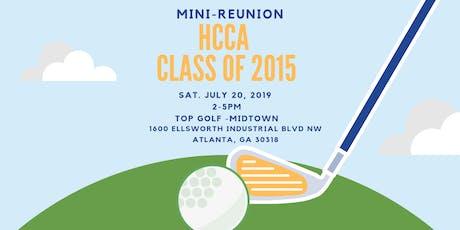 HCCA Class of 2015 Mini-Reunion tickets