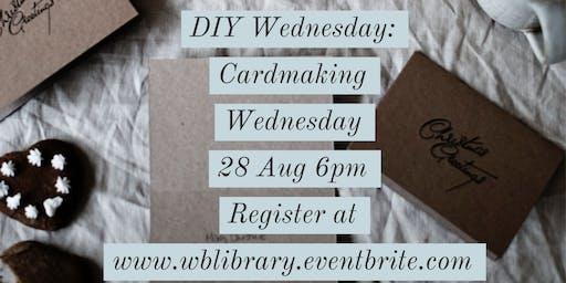 DIY Wednesdays: Cardmaking