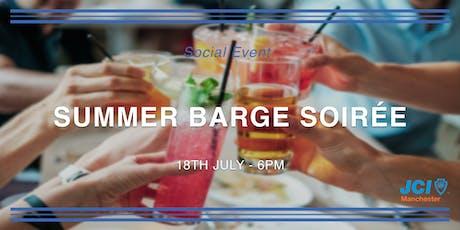 Summer Barge Soirée tickets