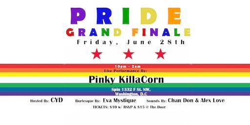 Pride Grand Finale with Pinky KillaCorn & Live Burlesque