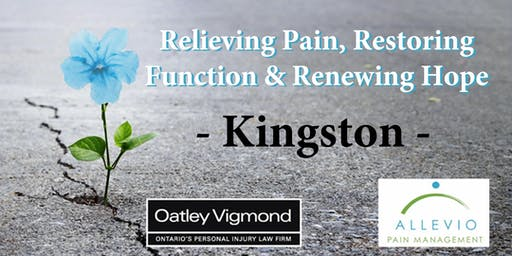 Kingston - Relieving Pain, Restoring Function & Renewing Hope